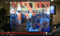 Kenyan school children minister healing
