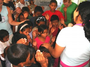 children who live in the mountains of Honduras receive salvation