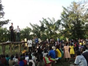Evangelistic Meeting in Uganda
