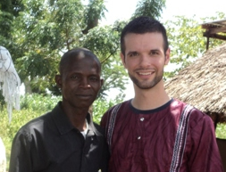 Pastor Paul and Art in Wanenga, Uganda