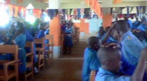 Kenyan School Kids Ministering Healing